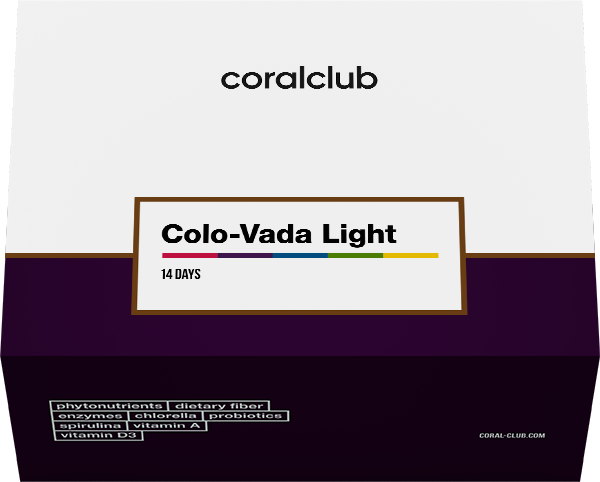 Program Colo-Vada Light (komplet pro 14 dní)